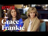 Grace and Frankie | A Conversation with Jane Fonda, Lily Tomlin and RuPaul Charles | Netflix