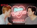 KJ Apa VS Cole Sprouse Charm Battle   Riverdale   Netflix