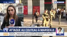 Au moins deux personnes ont été blessées au couteau à Marseille
