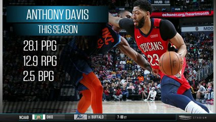 Shams Charania: Pelicans, Anthony Davis Discussing How Season Should Proceed