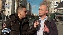 Des passants piégés par le faux journaliste Andreas
