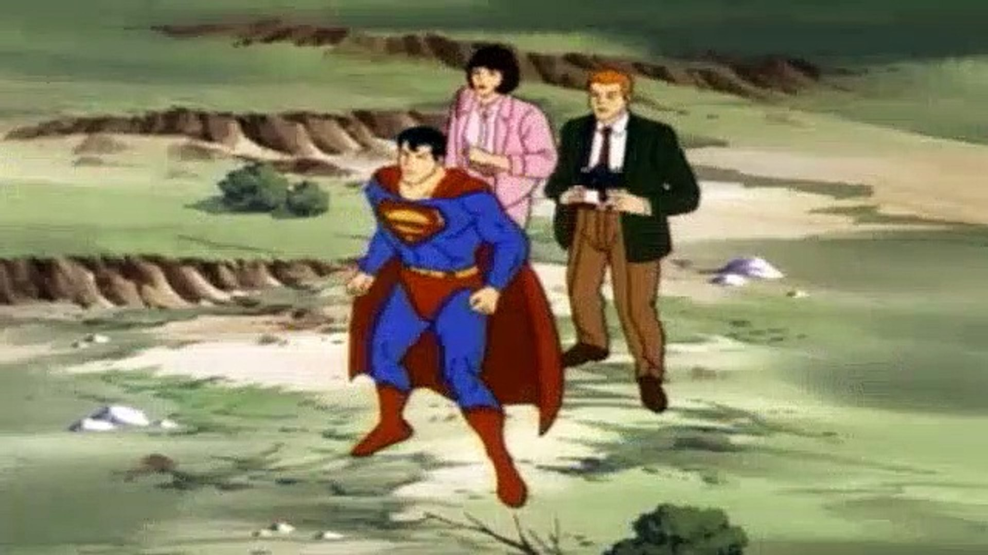 Superman Ruby Spears S01e04 Cybron Strikes The First Day At