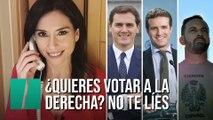"""""""¿Quieres votar a la derecha? ¡No te líes!"""", por Marta Flich"""