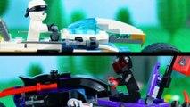 LEGO Ninjago STOP MOTION LEGO Ninjago: Zane vs Mr. E Bike Speed Build | LEGO Ninjago | Billy Bricks