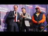 CARL FROCH -'IF MIKE TYSON CAN GET KNOCKED OUT, ANYONE CAN GET KNOCKED OUT' / MARTIN v JOSHUA