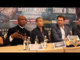 CONOR BENN LASHES OUT AT CHRIS EUBANK SNR @ PRESS CONFERENCE AFTER BEING 'DISRESPECTFUL'