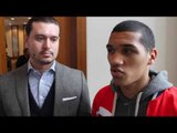 CONOR BENN - 'WHO DOES EUBANK SR THINK HE IS, GETTING NOSE IN MY BUSINESS WORRY ABOUT YOUR OWN SON'