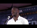 DEONTAY WILDER - 'CHRIS ARREOLA HE COMES TO FIGHT. THE FANS ARE GETTING THIER MONIES WORTH'
