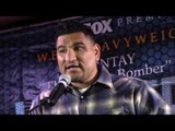 CHRIS ARREOLA - 'THEY DONT KNOW ME HERE IM JUST A FAT MEXICAN DUDE, IN THE RING ITS JUST ME & HIM'