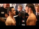 JAMIE CONLAN v PATRIK BARTOS - OFFICIAL WEIGH IN VIDEO (FROM CARDIFF)