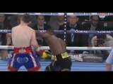 BROKEN JAW! - JAZZA DICKENS RETIRES AFTER TWO ROUNDS AGAINST GUILLERMO RIGONDEAUX *FIGHT HIGHLIGHTS*