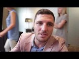 TOMMY COYLE ON HIS BRITISH TITLE CHALLENGE AGAINST TYRONE NURSE & STRAWBERRY KING DADDY COYLE
