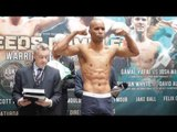 LUKE CAMPBELL v ARGENIS MENDEZ - OFFICIAL WEIGH IN & HEAD TO HEAD / LEEDS RUMBLE