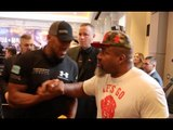 'I HATE DAVID HAYE! WHEN I SEE HIM I'LL SLAP HIM. ILL REMOVE HIM FROM HIS SKY SEAT' - SHANNON BRIGGS