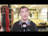 LENNY DAWS - 'IVE WATCHED YIGIT ALOT HE'S A GOOD FIGHTER BUT IM CONFIDENT I CAN WIN EBU TITLE'