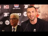 'IM NOT SURPRISED IF TYSON FURY TURNS UP SINGING, AS BATMAN OR AS MR INVISIBLE! - WLADIMIR KLITSCHKO