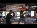 STARS IN THE MAKING!! - CONOR BENN & FELIX CASH TRAINING WITH TONY SIMS @MATCHROOM ELITE GYM
