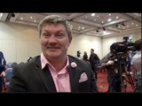 RICKY HATTON & KIRYL RELIKH - 'RELIKH BELIEVES HE'LL BE A SUPERSTAR LIKE GOLOVKIN HE WINS BY KO!!'