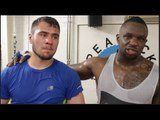 WTF!! DILLIAN WHYTE & DAVE ALLEN BECOME FRIENDS & HELP EACH OTHER WITH SPARRING! *EXCLUSIVE FOOTAGE*
