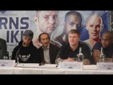 RICKY BURNS v KIRYL RELIKH / DILLIAN WHYTE v IAN LEWISON - OFFICIAL PRESS CONFERENCE W/ EDDIE HEARN