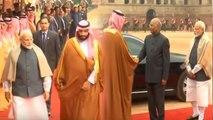 Saudi Arabia Crown Prince Mohammed Bin Salman receives Ceremonial Reception   Oneindia News