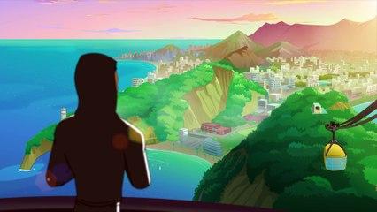 Supa Strikas - S03e36 - Ein Dribbler auf dem Dach