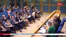 Philippe Bas : « J'ai donc décidé (…) de demander au président du Sénat que le bureau de notre assemblée (…) délibère en vue de saisir le procureur de la République de Paris, des faux témoignages caractérisés de Monsieur Benalla »