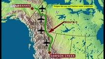 """"""" USA/Kanada:  1942 bis heute - Der Alaska (ALCAN) Highway... 2.288 km von Dawson Creek nach Fairbanks."""" ZDF info   WOLPERT undercover"""