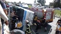 Silifke'de tarım işçilerini taşıyan minibüs devrildi: 4 ölü (3) - MERSİN