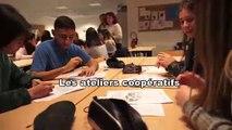 Les ateliers coopératifs au lycée professionnel Louis Blériot de Marignane