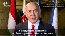 """Cimetière profané: Netanyahu dénonce un acte """"choquant"""""""