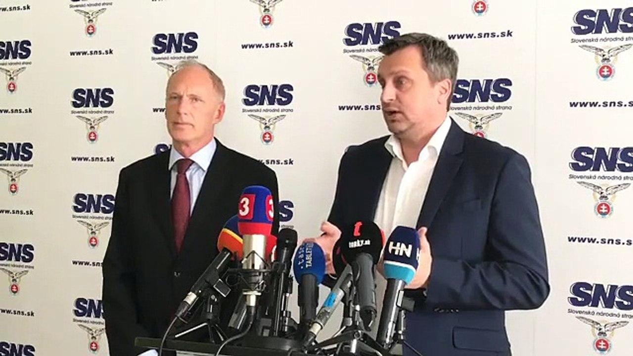 ZÁZNAM: TK predsedu SNS A. Danka