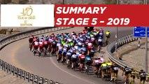 Stage 5 - Summary - Tour of Oman 2019