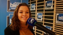 Coralie, candidate pour chanter en duo avec Amaury Vassili
