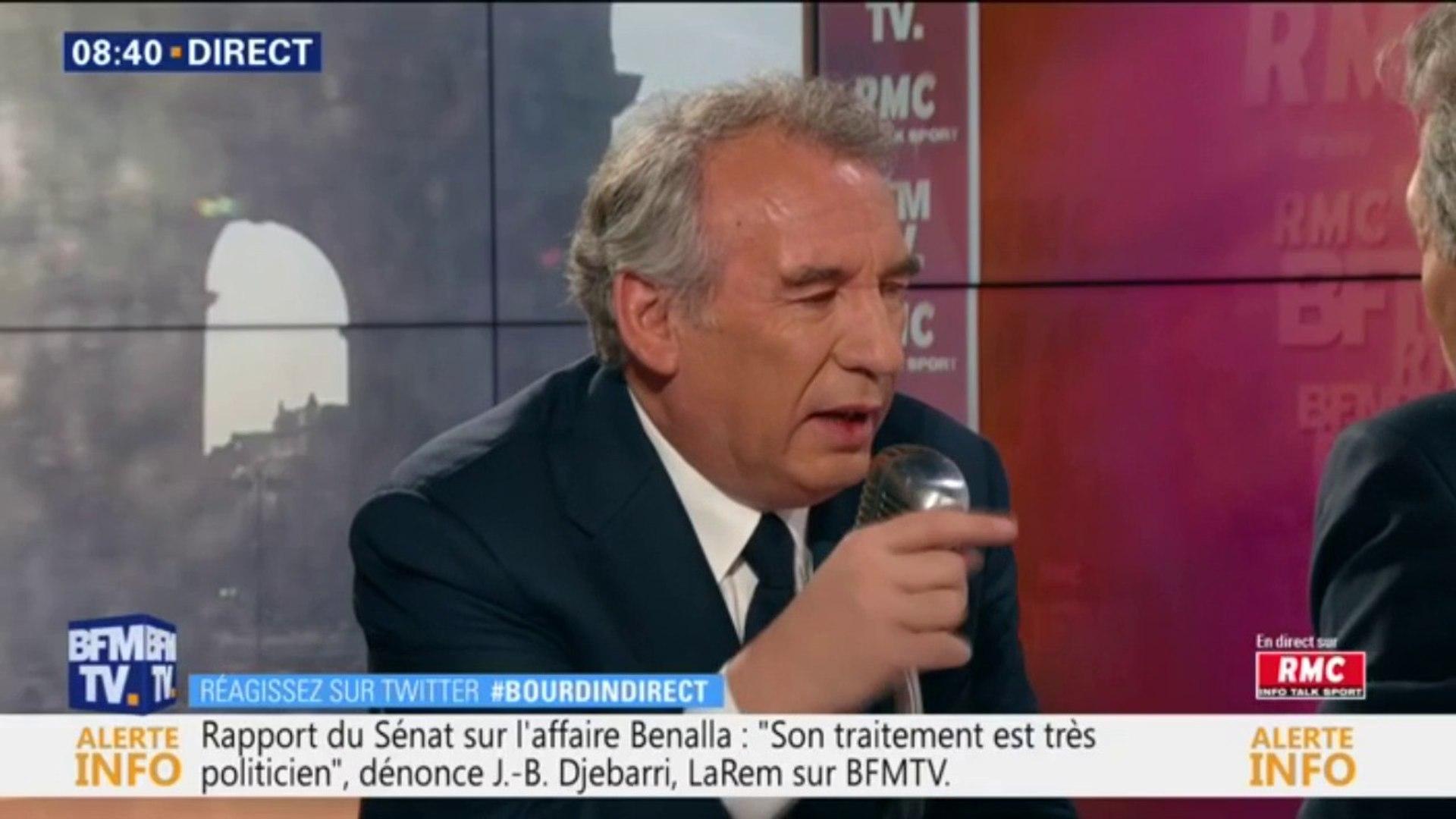 Pour François Bayrou, il y a au Sénat