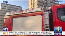 Aulnay-sous-Bois: deux pompiers grièvement blessés après l'incendie d'un immeuble