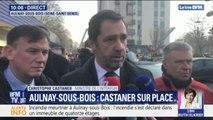 """Incendie à Aulnay-sous-Bois: Christophe Castaner affirme que """"l'immeuble n'est pas frappé d'insalubrité"""""""
