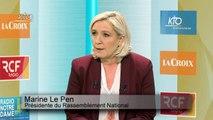 """Européenne : 'l'enjeu national est d'arriver devant Emmanuel Macron"""""""