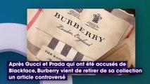 Burberry : la marque s'excuse et retire un pull accusé d'inciter au suicide