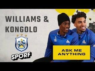 RONALDO OR MESSI? | Danny Williams & Terrence Kongolo | Ask Me Anything | SPORF x NBA LIVE 19