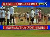 Cricket match between 'Master Blaster' Sachin Tendulkar and Prince William-Kate Middleton