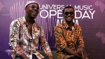 UNIVERSAL MUSIC  AFRICA - OPEN DAYS - TOOFAN