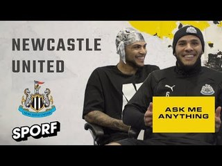 JAMAAL LASCELLES & DEANDRE YEDLIN | Ask Me Anything | SPORF x NBA LIVE 19