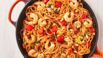 Kung Pao Shrimp Noodles Is The Perfect Quick Spicy Dinner