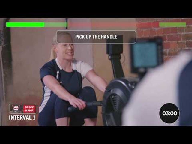 Go Row Indoor workout #6 – The tabata workout