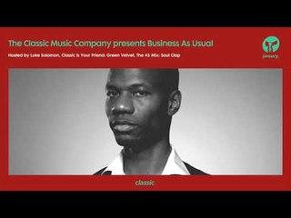 Business As Usual January 2019: Luke Solomon + Special Guest Soul Clap