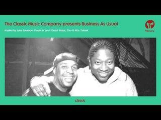 Business As Usual February 2019: Luke Solomon + Special Guest Yuksek
