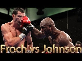 Carl Froch vs Glen Johnson (Highlights)