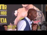 BERNARD HOPKINS v JOE SMITH JR - OFFICIAL PRESS CONFERENCE W/ OSCAR DE LA HOYA / HOPKINS v SMITH