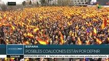 España: crece la tensión política frente a próximas elecciones